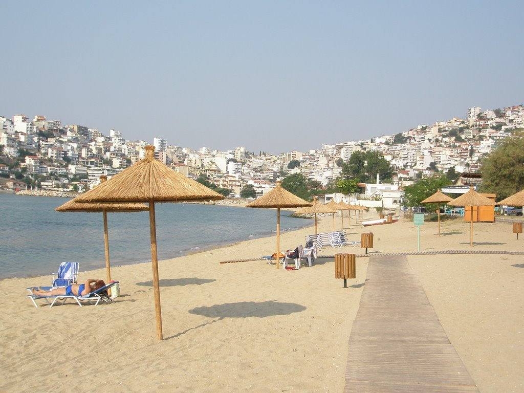Day at the beach in Kavala